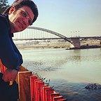 تصویری شخصی از رضا رشیدپور، بازیگر و مجری سینما و تلویزیون
