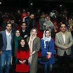 هانیه توسلی و نازنین بیاتی در اکران مردمی فیلم «مادری»