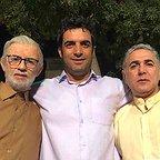 پشت صحنه سریال تلویزیونی دلدادگان با حضور مهدی صبایی، منوچهر هادی و سیروس همتی