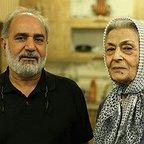 ژاله علو، بازیگر سینما و تلویزیون - عکس مراسم خبری به همراه پرویز پرستویی