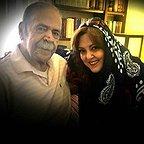 تصویری شخصی از محمدعلی کشاورز، بازیگر و کارگردان سینما و تلویزیون به همراه پرستو گلستانی