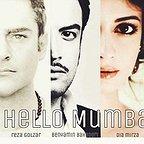 پوستر فیلم سینمایی سلام بمبئی با حضور محمدرضا گلزار، بنیامین بهادری و دیا میرزا