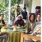 پشت صحنه فیلم سینمایی لس آنجلس تهران با حضور پرویز پرستویی، مهناز افشار، تینا پاکروان و گوهر خیراندیش