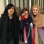 تصویری شخصی از نگار عابدی، بازیگر سینما و تلویزیون به همراه بیتا سحرخیز