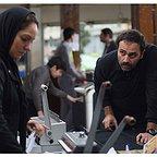 فیلم سینمایی خانهای در خیابان چهل و یکم با حضور مهناز افشار و آرش مجیدی