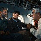 پشت صحنه فیلم سینمایی به وقت شام با حضور ابراهیم حاتمیکیا، بابک حمیدیان و هادی حجازیفر