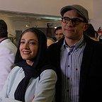 پشت صحنه فیلم سینمایی سرو زیر آب با حضور بابک حمیدیان و مینا ساداتی