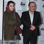 اکران افتتاحیه فیلم سینمایی وارونگی با حضور بهنام بهزادی و لیلا حاتمی