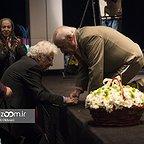 خسرو سینایی، کارگردان و نویسنده سینما و تلویزیون - عکس مراسم خبری به همراه لوریس چکناواریان و اکبرعالمی