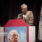 خسرو سینایی، کارگردان و نویسنده سینما و تلویزیون - عکس مراسم خبری به همراه ابوالحسن داوودی