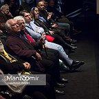 خسرو سینایی، کارگردان و نویسنده سینما و تلویزیون - عکس مراسم خبری به همراه لوریس چکناواریان