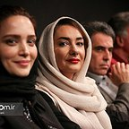 اکران افتتاحیه فیلم سینمایی سیانور با حضور بهنوش طباطبایی و هانیه توسلی