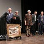 اکران افتتاحیه فیلم سینمایی سیانور با حضور حسین پاکدل و بهروز شعیبی