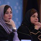 نشست خبری فیلم سینمایی ماجان با حضور مهتاب کرامتی و سیما تیرانداز