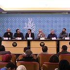 نشست خبری فیلم سینمایی بدون تاریخ بدون امضاء با حضور عبدالله اسکندری، امیر آقایی و وحید جلیلوند