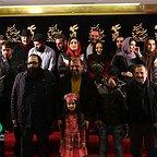 فرش قرمز فیلم سینمایی انزوا با حضور مهران رجبی، امیرعلی دانایی، لیندا کیانی، بهنوش بختیاری، لعیا عباسمیرزایی و مرتضیعلی عباسمیرزایی