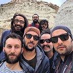 پشت صحنه فیلم سینمایی راه رفتن روی سیم با حضور احمد مهرانفر و حامد کمیلی