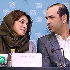 عکس جشنواره ای فیلم سینمایی آذر با حضور غزاله معتمد و مهران نایل