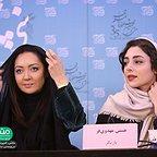 عکس جشنواره ای فیلم سینمایی آذر با حضور نیکی کریمی و هستی مهدویفر