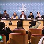 عکس جشنواره ای فیلم سینمایی آذر با حضور نیکی کریمی، هستی مهدویفر و محمد حمزهای