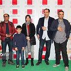 پردیس احمدیه در اکران افتتاحیه فیلم سینمایی لاک قرمز به همراه هومن برقنورد