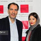 پردیس احمدیه در اکران افتتاحیه فیلم سینمایی لاک قرمز