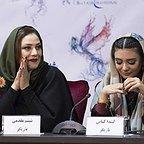 نشست خبری فیلم تلویزیونی خجالت نکش با حضور شبنم مقدمی و لیندا کیانی