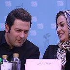 نشست خبری فیلم سینمایی اسرافیل با حضور پژمان بازغی و مریلا زارعی
