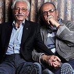 تصویری شخصی از جمشید مشایخی، بازیگر و مهمان سینما و تلویزیون به همراه محمدعلی کشاورز