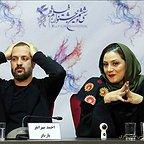 نشست خبری فیلم تلویزیونی خجالت نکش با حضور شبنم مقدمی و احمد مهرانفر