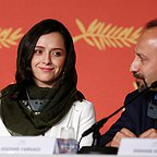 نشست خبری فیلم سینمایی فروشنده با حضور ترانه علیدوستی و اصغر فرهادی