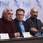 نشست خبری فیلم سینمایی به وقت شام با حضور ابراهیم حاتمیکیا، هادی حجازیفر، محمد شعبان و محمود گبرلو