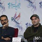 نشست خبری فیلم سینمایی عرق سرد با حضور فرشاد محمدی