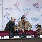 نشست خبری فیلم سینمایی سرو زیر آب با حضور مهتاب نصیرپور، ستاره اسکندری، مینا ساداتی، رضا بهبودی و محمود گبرلو