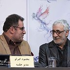 نشست خبری فیلم سینمایی سرو زیر آب با حضور مسعود رایگان و محمود گبرلو