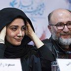 نشست خبری فیلم سینمایی سرو زیر آب با حضور مینا ساداتی و رضا بهبودی