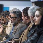 نشست خبری فیلم سینمایی سرو زیر آب با حضور محمدعلی باشهآهنگر، مینا ساداتی و سیدحامد حسینی
