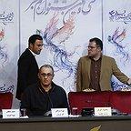 نشست خبری فیلم سینمایی تنگه ابوقریب با حضور بهرام توکلی، امیر جدیدی و محمود گبرلو