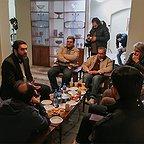 پشت صحنه فیلم سینمایی خانهای در خیابان چهل و یکم با حضور سید محمود رضوی
