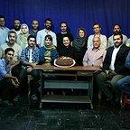 پشت صحنه فیلم سینمایی اسرافیل با حضور هایده صفییاری، کیوان مقدم، جهانگیر میرشکاری، مستانه مهاجر و آیدا پناهنده