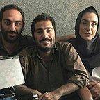 پشت صحنه فیلم سینمایی بدون تاریخ بدون امضاء با حضور هدیه تهرانی و نوید محمدزاده