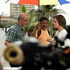 پشت صحنه فیلم سینمایی سلام بمبئی با حضور قربان محمدپور و دیا میرزا
