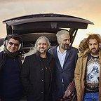 پشت صحنه فیلم سینمایی کاتیوشا با حضور علی عطشانی، احمد مهرانفر، مازیار فلاحی و هادی حجازیفر