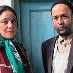 پشت صحنه فیلم تلویزیونی خجالت نکش با حضور شبنم مقدمی و احمد مهرانفر