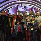 پردیس احمدیه در جشنواره فیلم سینمایی لاک قرمز به همراه پانتهآ پناهیها و بهنام تشکر