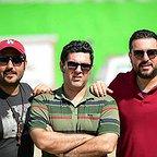 پشت صحنه فیلم سینمایی چهارراه استانبول با حضور میلاد کیایی، محسن کیایی و مصطفی کیایی