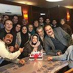 تصویری شخصی از نگار عابدی، بازیگر سینما و تلویزیون به همراه هومن برقنورد