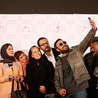 عکس جشنواره ای فیلم سینمایی خانهای در خیابان چهل و یکم با حضور سهیلا رضوی، علیرضا کمالی و سارا بهرامی