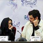 نشست خبری فیلم تلویزیونی خجالت نکش با حضور الناز حبیبی و سام درخشانی