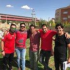 پشت صحنه سریال تلویزیونی مس با حضور رامین راستاد، رامین الماسی و محمد حسنزاده